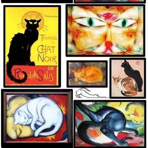 Cats in Famous Art