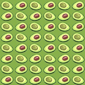 Avocado greenery mini size
