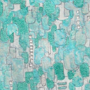 Turquoise Beads Sequins