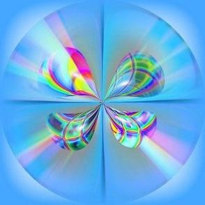 Amazing Blue Circles