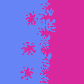 Pink and Blue Color Changing - Dress Fabric