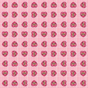 Ferret Plaid - Pink