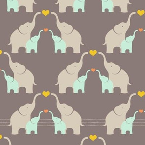 Stitched Together: Elephant Family Design