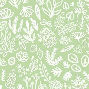 In the Garden (mint)