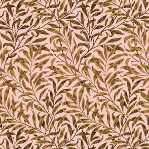 Willow Bough ~  Gilt on Dauphine ~ The William Morris Collection