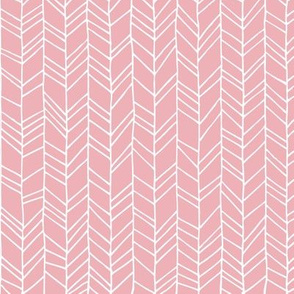 MIA- Crazy Herringbone (soft pink)