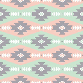 Southwest Style (Mint and Peach)