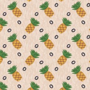 Primitive country pineapples