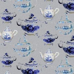 England English Tea Pots For Two Small Drink Beverage_Miss Chiff Designs