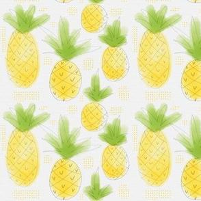 Sketchy Pineapples