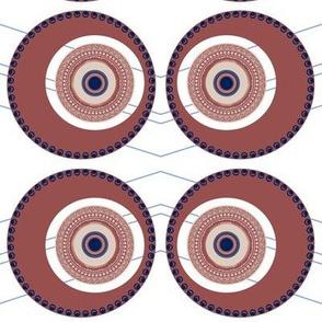 Elaborate Circle Desert