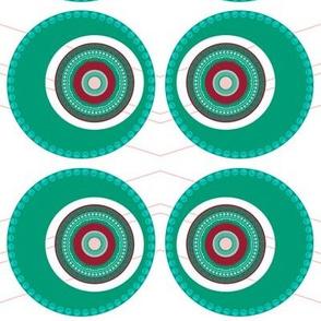 Elaborate Circle Carribean