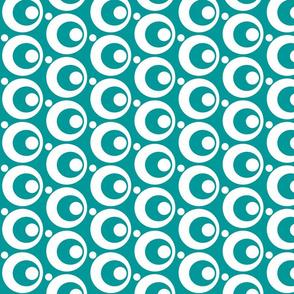 Circle & Dots Turquoise
