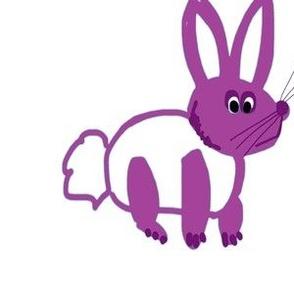 Purple bunny (centered)