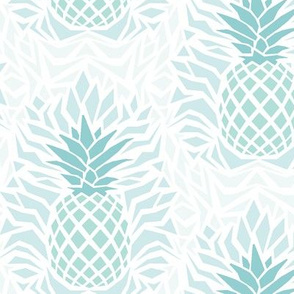 modern_pineapple_damask_green