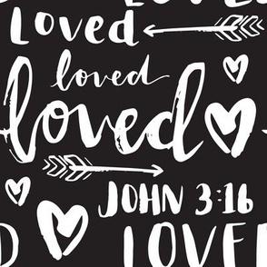 Loved John 3:16