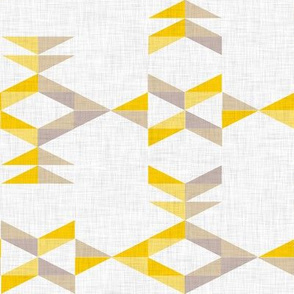Aztec (yellow and gray)