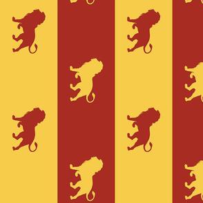 lion house scarf - potter's world