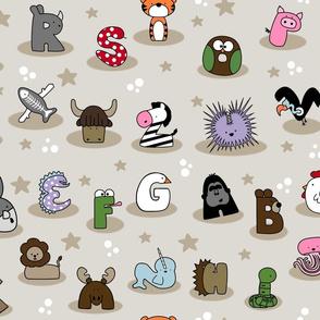 Animal Alphabet Show- Large