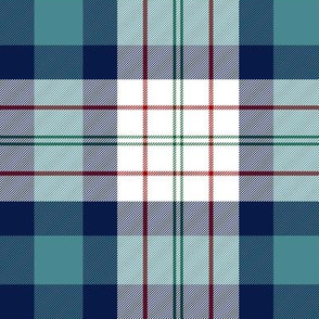 "Ferguson dress tartan, 6"" teal"