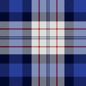 "Ferguson dress tartan, 6"" blue"