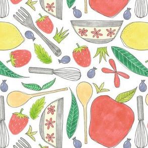 kitchen stuff pattern