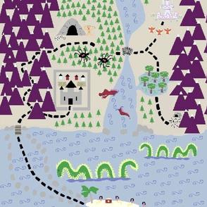Ultimate Treasure Map - Antiqued