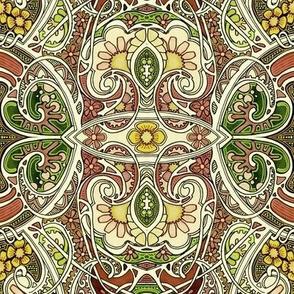Paisley Garden Tangle