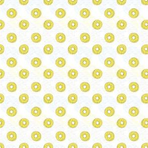Pineapple Rings on white