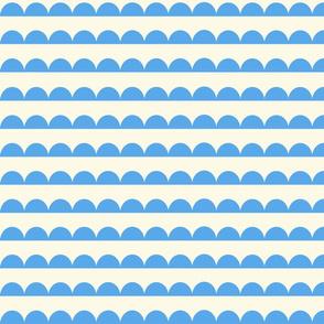 308. Scallops in Blue