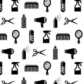 Salon & Barber Hairdresser Pattern