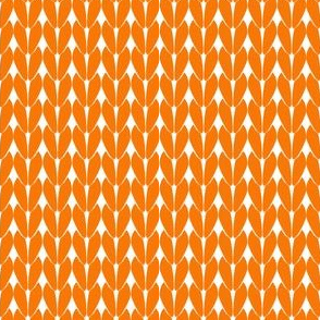 Knit Stitches - Orange - Knitter's Kitchen