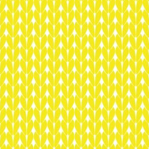 Knit Stitches - Yellow- Knitter's Kitchen