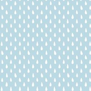 HAPPY RAINDROPS ♥ light blue
