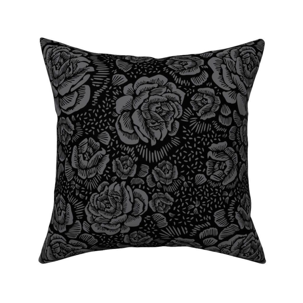 Catalan Throw Pillow featuring Madalynne x C.Banning by cinneworthington