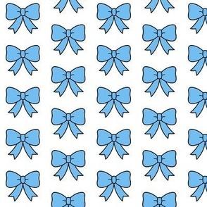 Itty Bitty Blue Bows