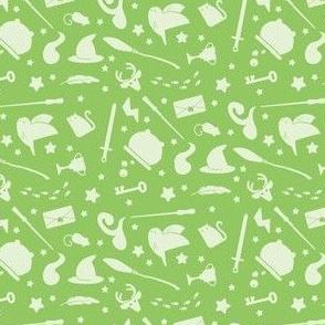 Pastel Wizardry - Green