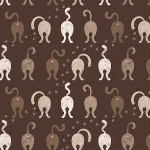 Cat Butts - Brown