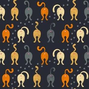 Cat Butts - Halloween