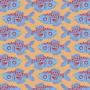 Bold Fish Print