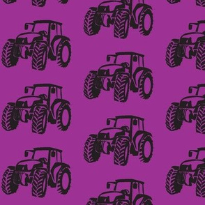 Tractors purple/black-ch-ch-ch