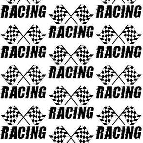 racing flag - small