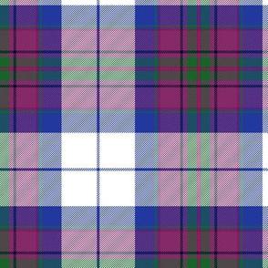 "Pride of Scotland dress (dance) tartan, 6"""