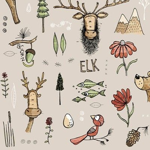 Nature Study - with Elk! - small