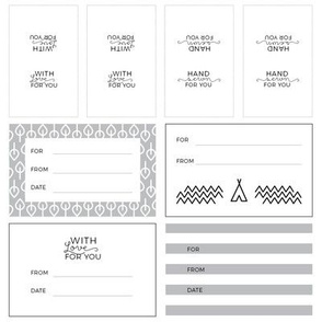 Solitude Fabric & Quilt Labels