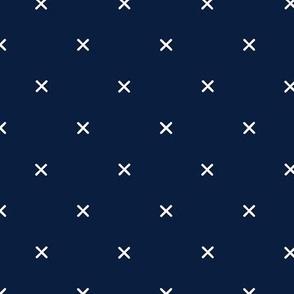 X // Navy