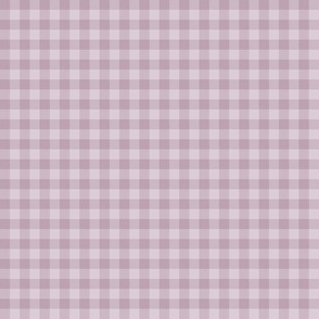 lilac and mauve gingham