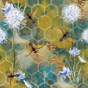 Golden Day Bees