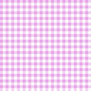 pale orchid gingham