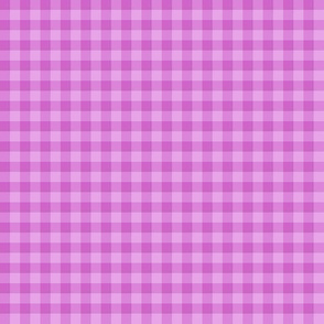light orchid gingham